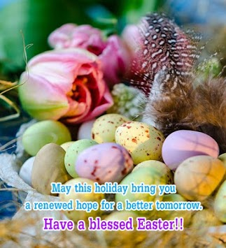 Happy Easter Wishes Messages pc screenshot 2