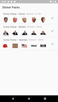 Dump Trump for WhatsApp pc screenshot 1
