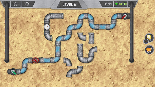 Plumber Pipe: Connect Pipeline pc screenshot 1