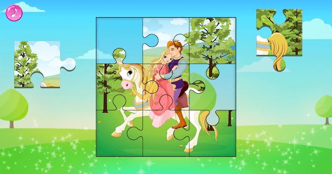 Princess Puzzles for Kids pc screenshot 1