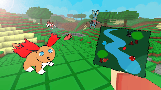 Pixelmon Craft GO : catch them all pc screenshot 1
