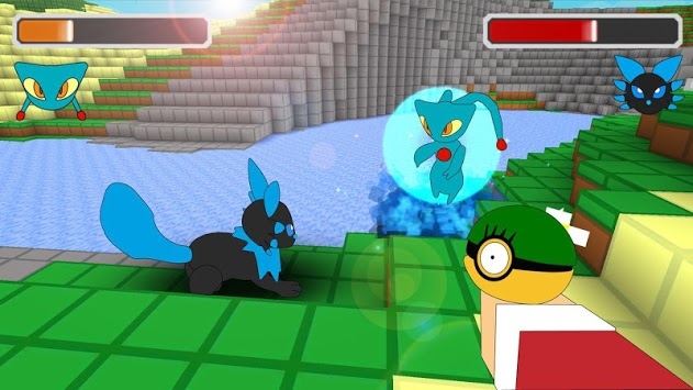 Pixelmon craft go: building & Battle PE pc screenshot 1