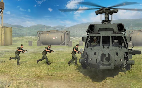 Army Helicopter Transporter 3D pc screenshot 1