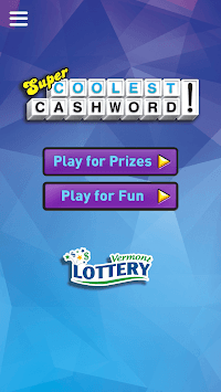Cashword by Vermont Lottery pc screenshot 1