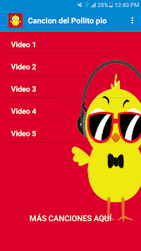 Cancion del pollito pio gratis pc screenshot 1