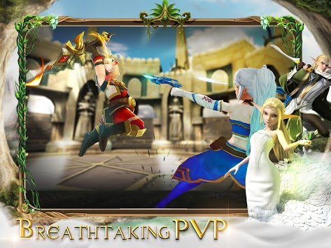 Throne of Elves: 3D Anime Action MMORPG pc screenshot 1