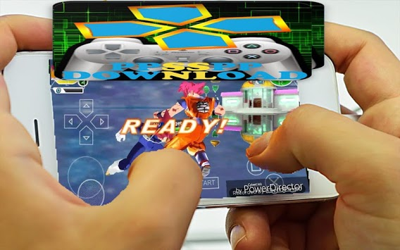 PPSSPP and Roms Game Premium A to Z pc screenshot 1