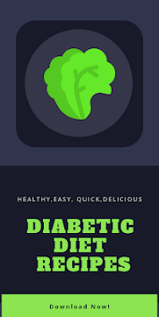 Diabetic Diet Recipes: Diabetes Recipes Apps Free pc screenshot 1