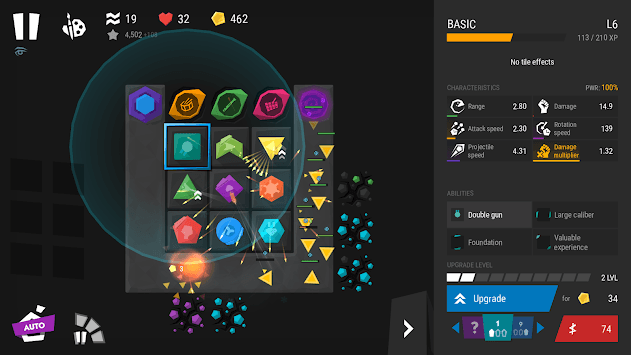 Infinitode 2 - the Infinite Tower Defense pc screenshot 1