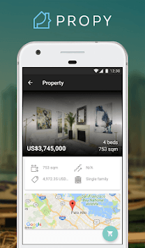 Propy - Buy Properties in Bitcoin and $. Online. pc screenshot 1