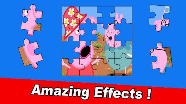 Puzzle Pepa Jigsaw Pig game pc screenshot 1