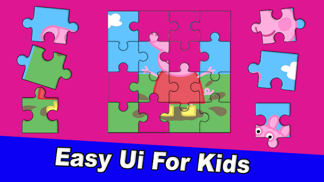 Puzzle Pepa Jigsaw Pig game pc screenshot 2