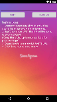 SaveAgram : Save any instagram videos and picture for PC