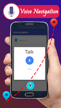 Voice GPS Driving Directions & Live Navigation pc screenshot 1