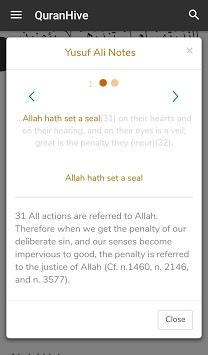 QuranHive pc screenshot 1