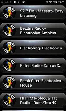 Radio FM Moldova PC screenshot 1