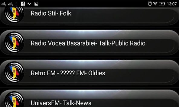 Radio FM Moldova PC screenshot 3