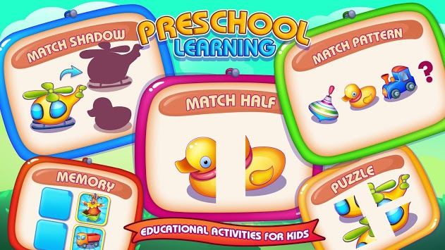 Preschool Learning - Cognitive & General Abilities pc screenshot 1