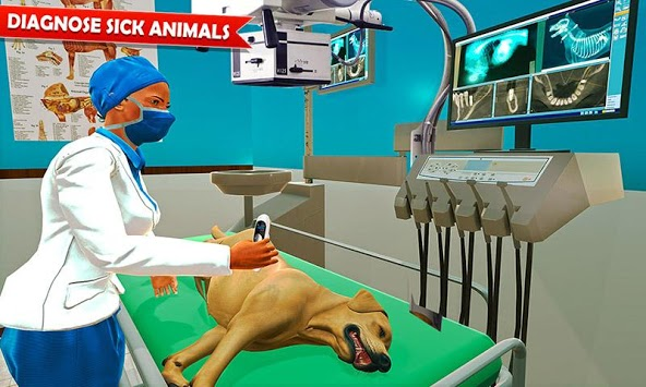 Pet Hospital Vet Clinic Animal Vet Pet Doctor Game pc screenshot 1