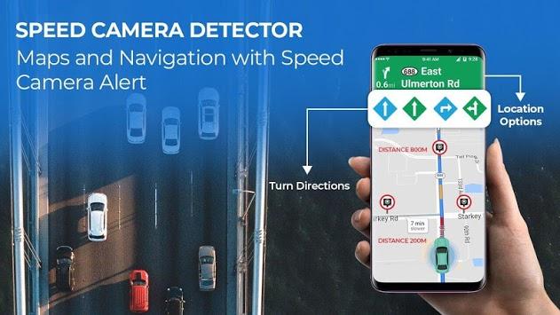 Speed Camera Radar - Police Radar Detector pc screenshot 2
