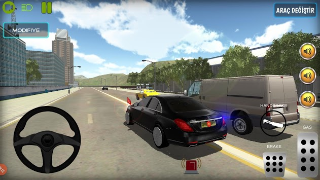 New President Car Driving Game pc screenshot 2