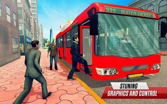 City Bus Passenger Driving pc screenshot 1