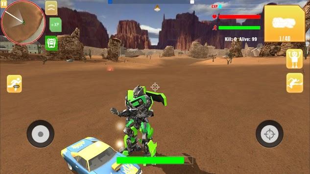 Robot War Free Fire - Survival battleground Squad pc screenshot 1