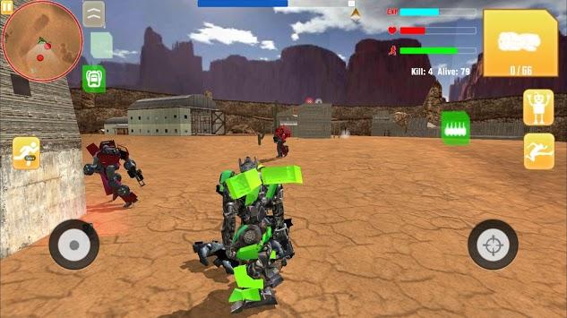 Robot War Free Fire - Survival battleground Squad pc screenshot 2