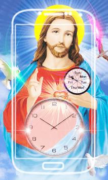 Jesus Clock Live Wallpaper pc screenshot 1