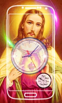 Jesus Clock Live Wallpaper pc screenshot 2