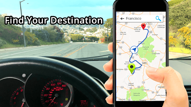 GPS, Maps, Directions & Navigation: Route Planner pc screenshot 1