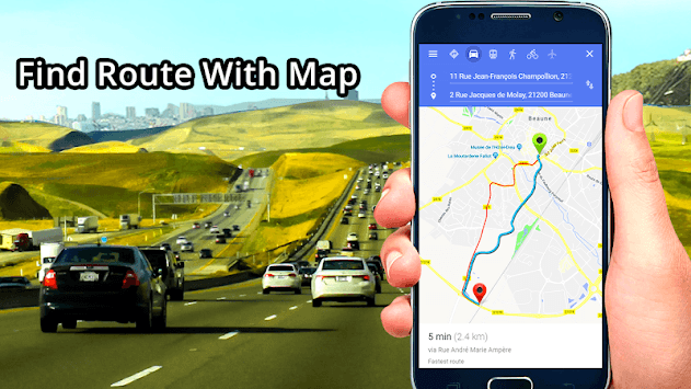 GPS, Maps, Directions & Navigation: Route Planner pc screenshot 2
