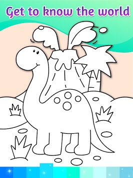 Coloring Pages Kids Games with Animation Effects pc screenshot 2