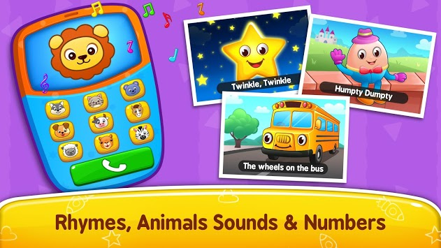 Baby Games - Piano, Baby Phone, First Words pc screenshot 1