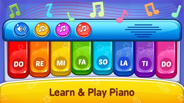 Baby Games - Piano, Baby Phone, First Words pc screenshot 2