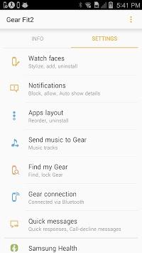 Gear Fit2 Plugin pc screenshot 1
