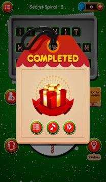 Christmas Word Game Santa Claus Puzzle Gift pc screenshot 1