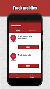 Mobile Tracker In English pc screenshot 1