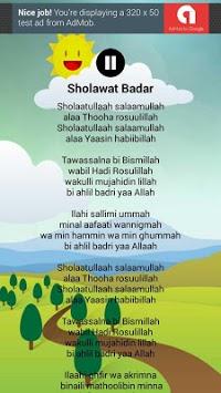 Lagu Anak Muslim & Sholawat Nabi Lengkap pc screenshot 1