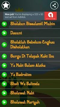 Lagu Anak Muslim & Sholawat Nabi Lengkap pc screenshot 2