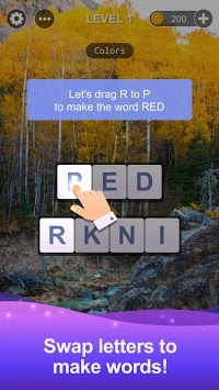 Word Tour Swap: Spell, Search & Link Puzzle Games pc screenshot 1
