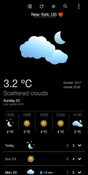 Accurate Weather Forecast pc screenshot 1