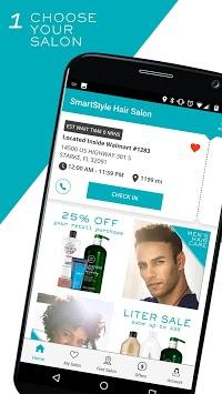 SmartStyle Hair Salons pc screenshot 1