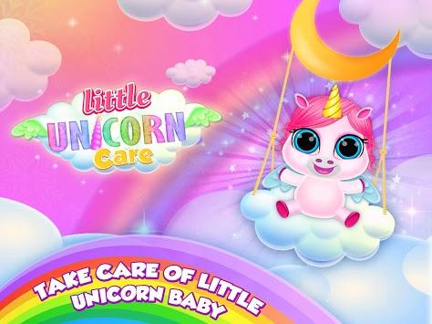 Baby Unicorn Care Pet Pony pc screenshot 1