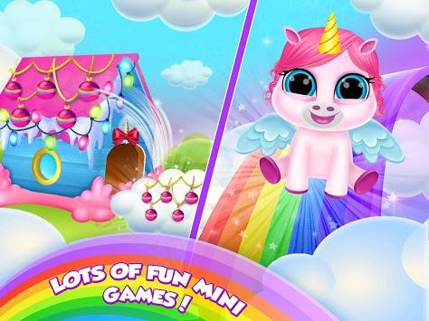 Baby Unicorn Care Pet Pony pc screenshot 2