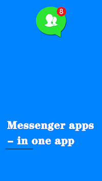 Messenger apps  - in one app pc screenshot 1