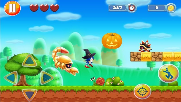 Sonic Journey Classic Adventure: Dash Runners Jump pc screenshot 1