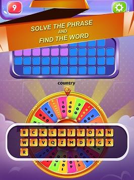 Wheel of Word - Fortune Game pc screenshot 1