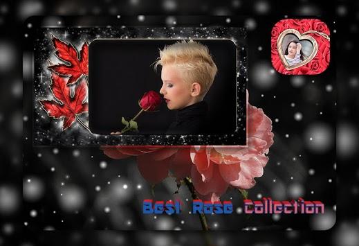 Rose Photo Frame Photo Editor pc screenshot 1
