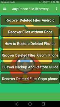 Android File Recovery Guide pc screenshot 1